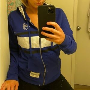 PINK hoodie zip up